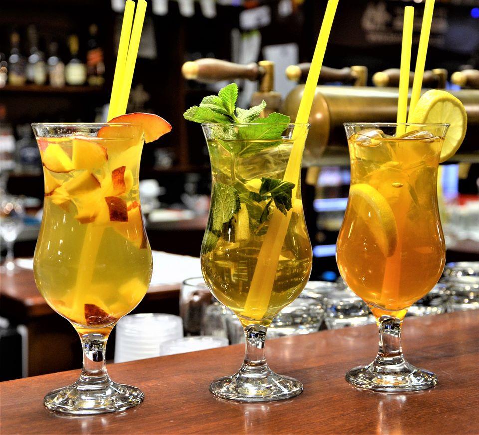 Letní ledové čaje restaurace Na Rychtě
