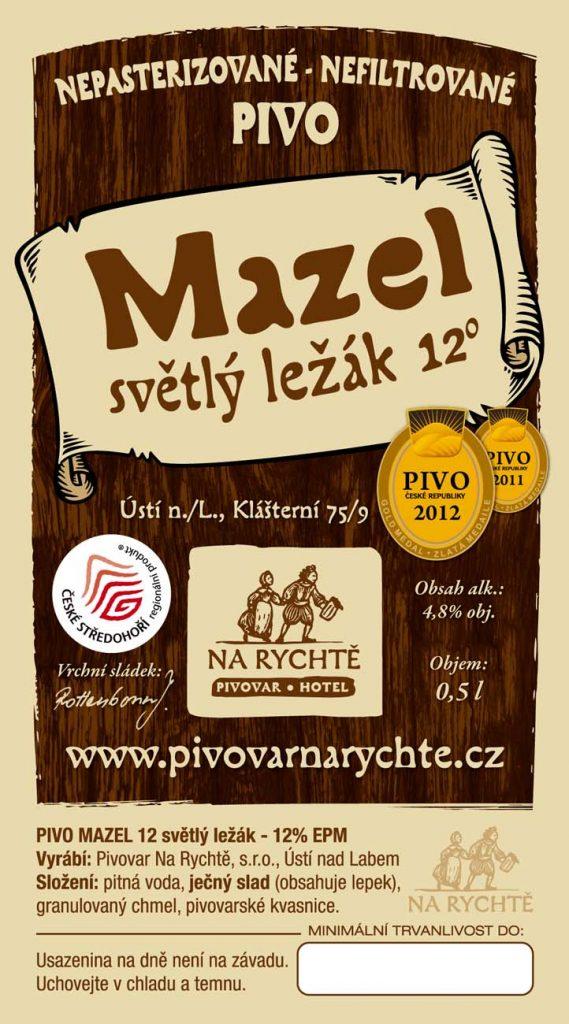 Ústecký Mazel Pivovar Na Rychtě