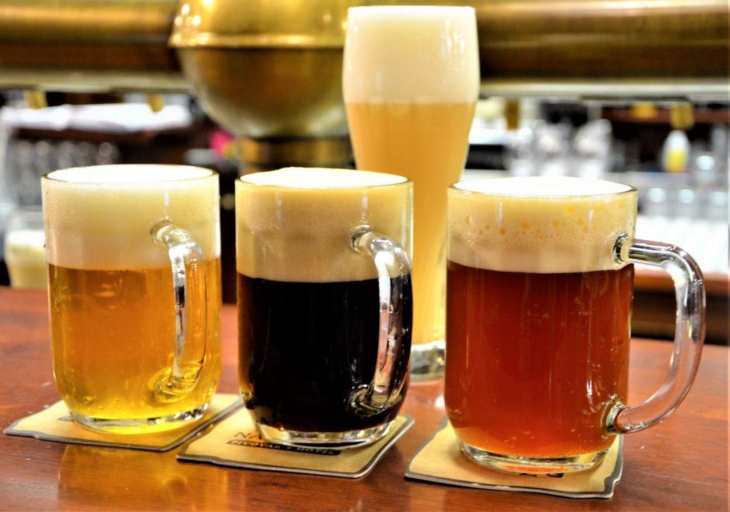 Nabídka piv z pivovaru Na Rychtě