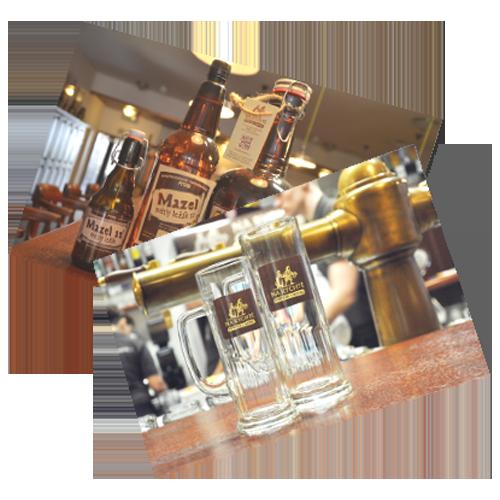 Souvenirs und Glas Brauerei und Hotel Na Rychtě