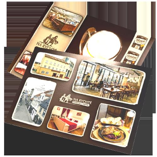 Souvenir-Ansichten Brauerei und Hotel Na Rycht