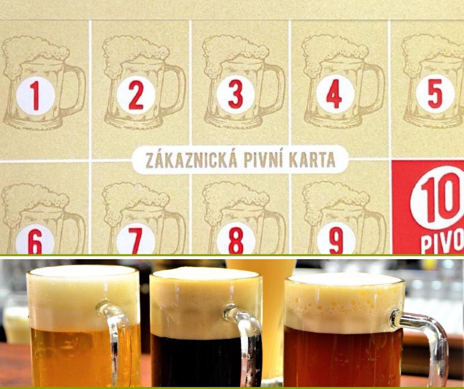 Zákaznická pivní karta Pivovar Na Rychtě