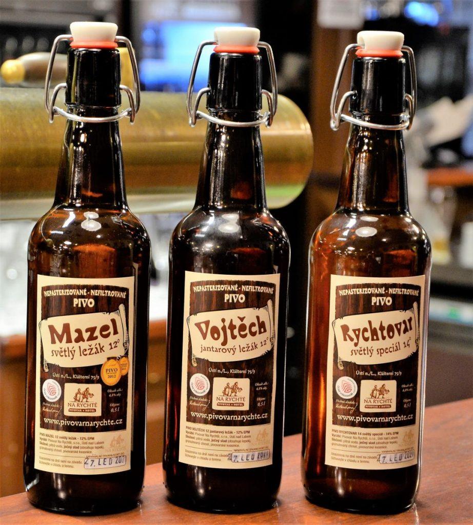 Lahvové pivo Pivovar Na Rychtě